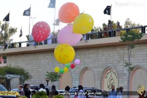 Islámský stát znovuotevřel hotel Ninawa v Mosulu