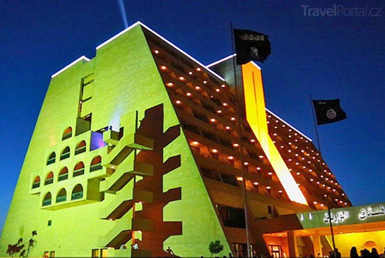 hotel Ninawa v Mosulu