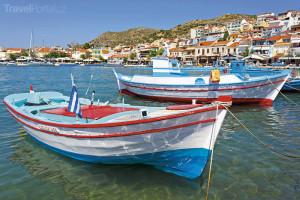 přístav Pythagorion na Samosu