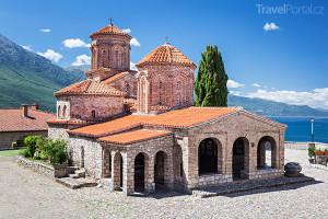 klášter sv. Nauma u jezera Ohrid