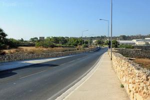 silnice na Maltě