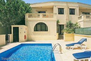 vila na Maltě