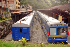 turistický vlak Machu Picchu