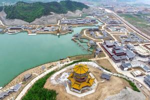 replika paláce Jüan-ming-jüan