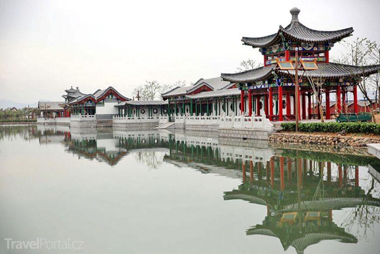 replika Letního paláce v Číně
