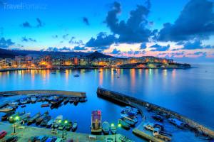 přístav na Maltě