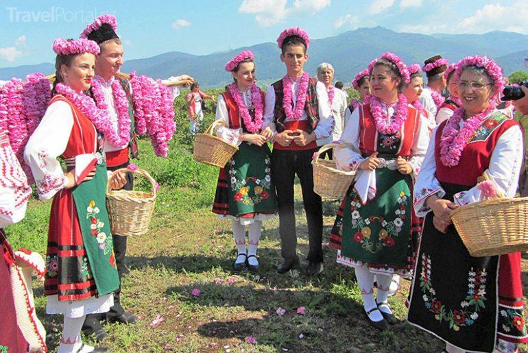 Festival růží v Kazanlaku