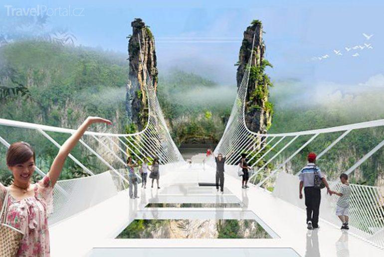 unikátní most v Číně