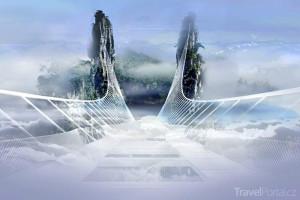 čínský most inspirovaný Avatarem