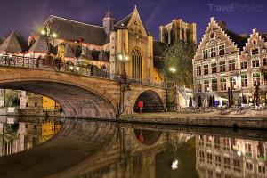 Belgické město Bruggy