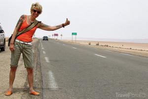 Marcela Březinová zkoušela v Tunisku a na Djerbě stopovat