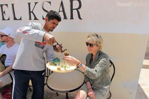 Marcela Březinová si v Tunisku pochutnala na mátovém čaji