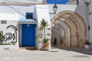 Tuniská architektura je turistickým lákadlem