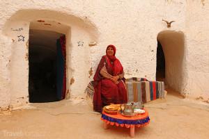 tryglodyt v Tunisku