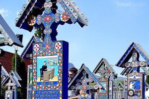 Merry Cemetery Rumunsko