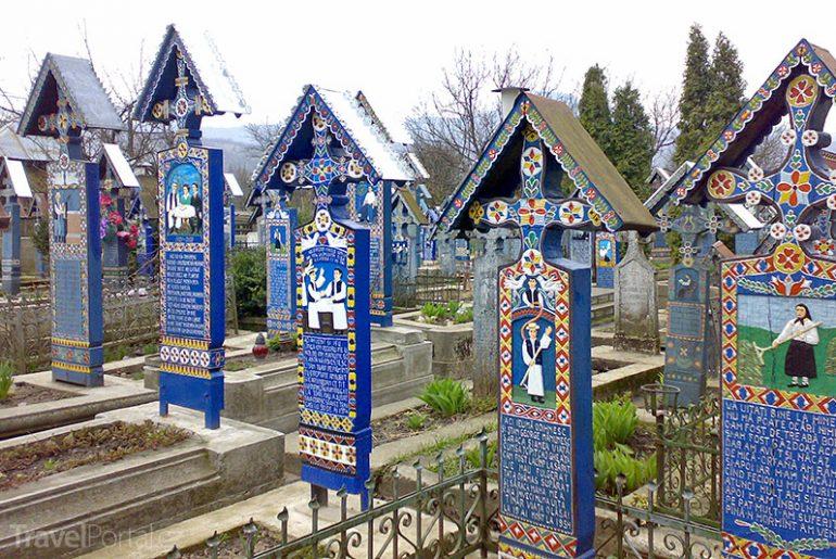 Veselý hřbitov alias Merry Cemetery
