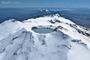 Mt. Ruapehu Nový Zéland