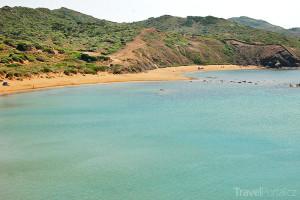 pobřeží Menorky