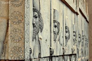 reliéfy Persepolis