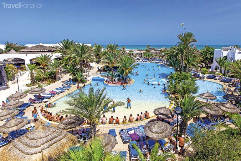 resort Tunisko