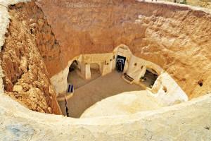 Troglodyt Tunisko