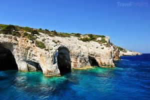 řecký ostrov Zakynthos