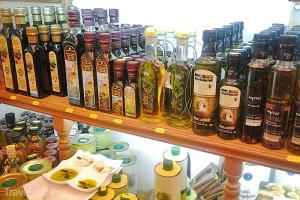 olivový olej Korfu