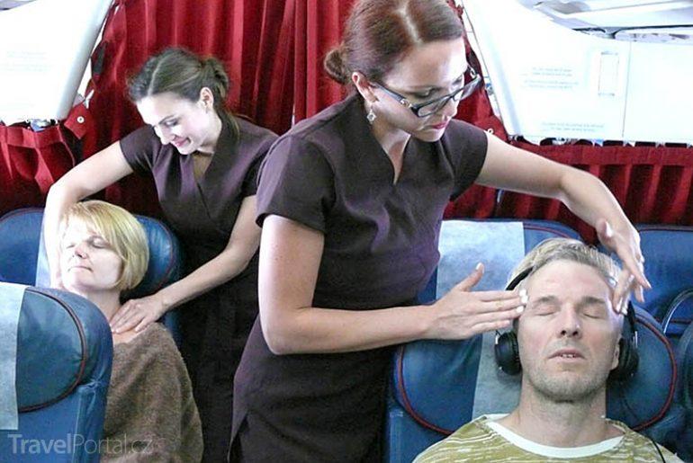 Air Malta masáže zdarma
