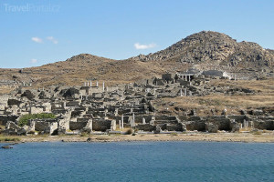 řecký ostrov Délos