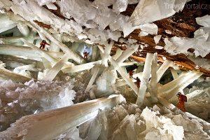 Cueva de los Cristales Mexiko