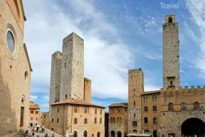 dvojčata San Gimignano