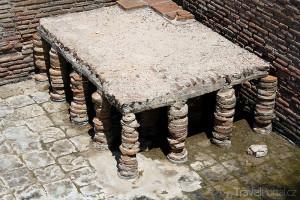 zbytky lázní v Butrintu