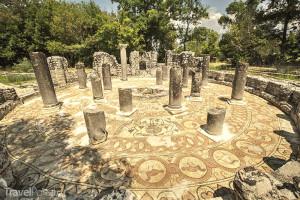 podlahová mozaika Butrint