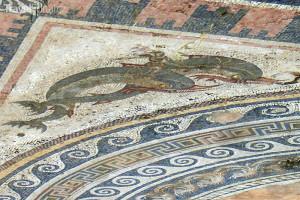 mozaika na ostrově Délos