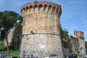 pevnost v San Gimignano