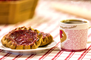 finský koláč Kainuun rönttönen