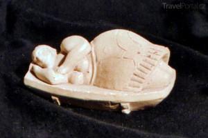 Spící kněžka Hypogeum Malta