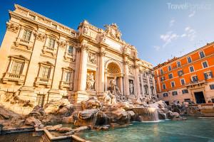 Fontana di Trevi Řím