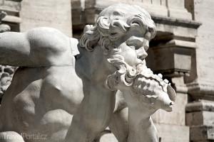 Neptun Fontana di Trevi