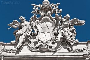 Fontana di Trevi detail
