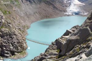 most u ledovce Trift