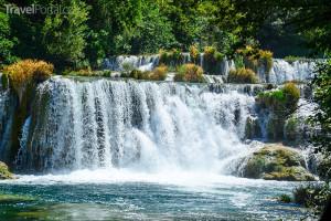 vodopády Chorvatsko