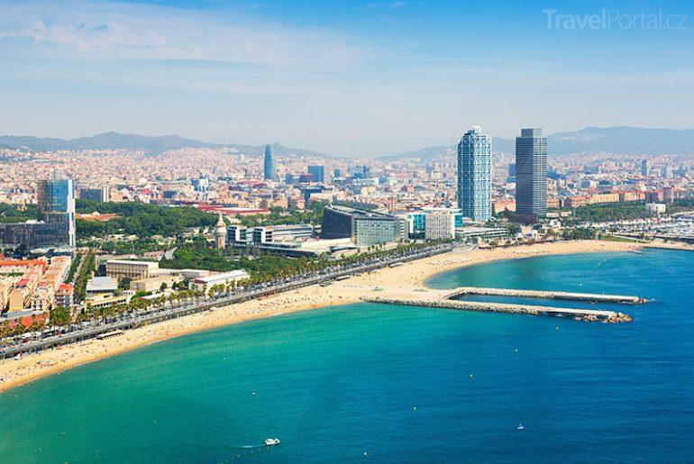 pobřeží Barcelony