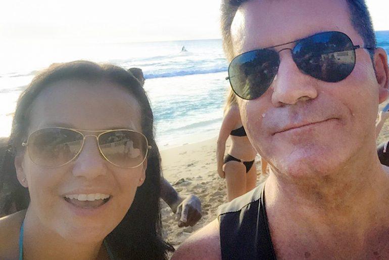 Markéta Schusterová a Simon Cowell