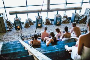 největší sauna na světě Agora