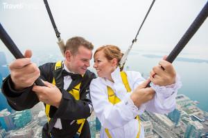 svatba na CN Tower