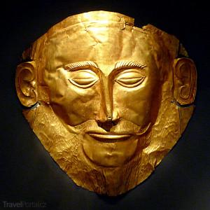 Agamemnónova maska Mykény
