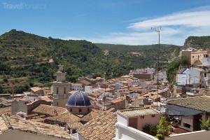 španělské městečko Buñol