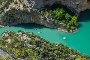 Gorges du Verdon v Provence