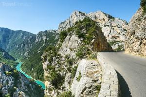 Gorges du Verdon v jižní Francii